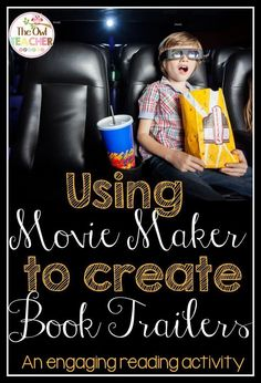 We read books and then created book trailers using Movie Maker! There were so many standards met in this engaging reading (technology) project! Read about it and get the free download (with Rubric) to get started!!