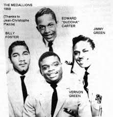 The Medallions with a bunch of great hits from the early 1950s.