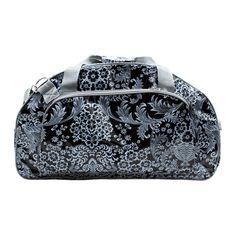 Reisetaschen - grosse Sporttasche Saunatasche, mit Blumen - ein Designerstück von Ikuri bei DaWanda