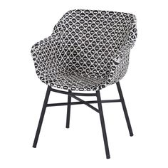 Hartman Sophie Yasmani & Delphine Tuinset 240 x 100 cm Delphine, Aluminium, Play Houses, Wicker, Armchair, Dining Chairs, New Homes, Black And White, Furniture