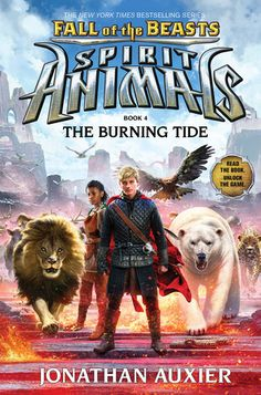 Spirit animals book 4 fire and ice by shannon hale books for the burning tide spirit animals fall of the beasts book 4 by fandeluxe Images