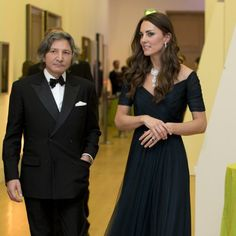 Kate Middleton, en la gala en la National Portrait Gallery de Londres..