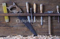 Carpenter tools. — Стоковое фото © StockPhotoAstur #63631655