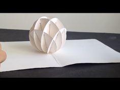 How To Make 3D Christmas Snow Ball Pop Up Card Kirigami Tutorial. Link download: http://www.getlinkyoutube.com/watch?v=aNEDDHB8E_g