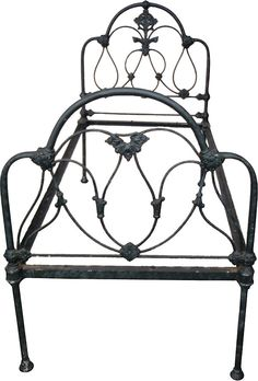 One Kings Lane - The Master Bedroom - Victorian Cast-Iron Bed Frame