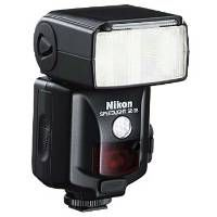 Nikon SB-28. Great, cheap(ish) flash for those of us doing off-camera strobist-style work in manual mode.