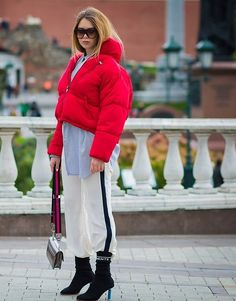 The best street style photos from Russia Fashion Week. Photographed by Style Du Monde.