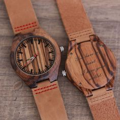 Buying The Right Type Of Mens Watches - Best Fashion Tips Big Watches, Sport Watches, Cool Watches, Wooden Watches For Men, Watch Engraving, Automatic Watch, Boyfriend Gifts, Wood Watch, Gifts For Dad