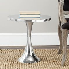 Shop For Safavieh Galium Silver Side Table. Get Free Shipping At  Overstock.com