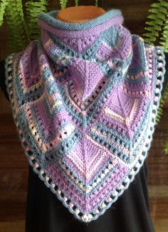 Holiday Crochet Patterns, Crochet Stitches Patterns, Knitting Stitches, Crochet Designs, Stitch Patterns, Knitting Patterns, Knitted Afghans, Tunisian Crochet, Knit Or Crochet