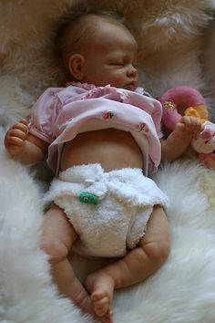 ADORABLE REBORN BABY GIRL~MARIE~ was Andi by Linda Murray~discontinued | eBay