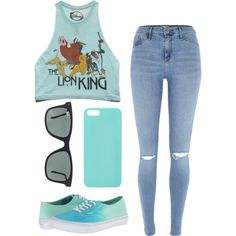 Untitled #27 by lienabena on Polyvore featuring Forever 21, River Island, Vans, Ray-Ban and Happy Plugs