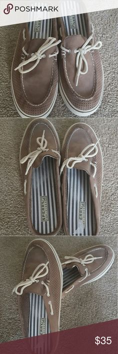 LIKE NEW Backless Sperry Boat Shoes Backless Sperry Boat Shoes Sperry Top-Sider Shoes Sneakers