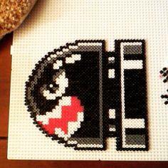 Bullet Bill - Mario hama beads by annhelenab