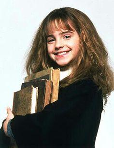 Hermione a l'école des sorciers, trop chou ♥