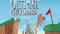 Ultimate Chicken Horse: From game jam prototype to hilarious party game Fallout New Vegas, Ps4, Game Presents, Screwed Up, Party Games, Xbox One, Nintendo Switch, Hilarious, Product Launch