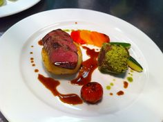 of Lamb Braised shoulder with a herb crust and roast loin of lamb More ...