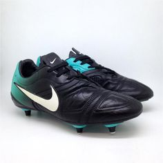 3c38371dc9e4 Nike mens CTR 360 Soft Ground Soccer Shoes. 366239-014. Size UK 8, EU 42.5,  US 9. Interior length 27
