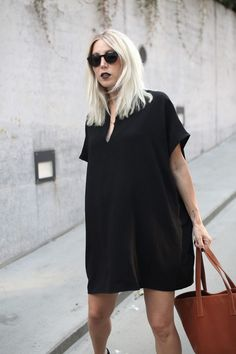 Summer Black, Fair Fashion, ootd, lotd, American Apparel, Insecta Shoes, Ace & Tate, Matt & Nat, vegan, Style, Streetstyle, Look, Outfit,…