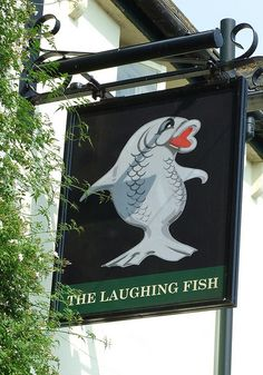 The Laughing Fish pub sign Isfield Sussex | Flickr - Photo Sharing!