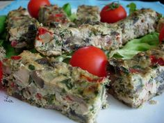 Low Carb Recipes, Cooking Recipes, Romanian Food, Romanian Recipes, Quiche, Delish, Bacon, Deserts, Food And Drink