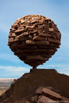 Rock Balancing, by Michael Grab.