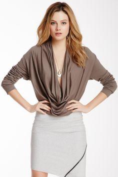 Zoe Cowl Neck Shirt