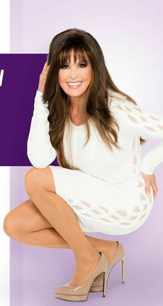 Marie Osmond in a white dress showing off her amazing legs Beautiful Old Woman, Pretty Woman, Gorgeous Women, Sexy Older Women, Classy Women, Marie Osmond Hot, Drag Queen Outfits, Celebrity Boots, In Pantyhose