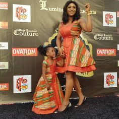 Trendy Mummy And Daughter Ankara Styles