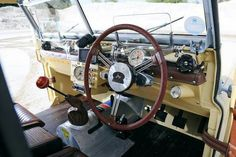 Land rover series interior mods