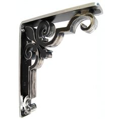"Fleur de Lis styling in a heavy duty design.  The Charlotte wrought iron corbel features a ¼"" back plate and laser cut design fashioned from steel that is heavier than any other the market. Custom mad..."