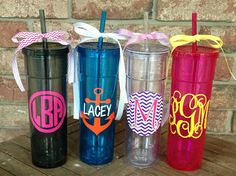 Personalized/Monogrammed Bright Tall and by MSMudpieBoutique, $12.50