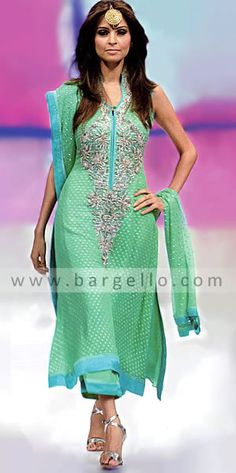Mehndi Outfit, probably change the color. $340    #desi, #clothes, #pakistani, #wedding, #shalwarkameeze, #shaadi, #couture, #fashion