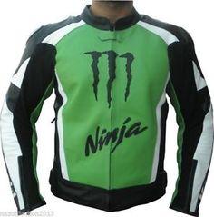 kawasaki ninja moto racing de cuero chaqueta armadura ce aprobado para hombre damas - Categoria: Avisos Clasificados Gratis Estado del Producto: New without tagsValor: USD129,99Ver Producto