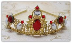 Medieval Crown  Renaissance Crown Medieval by TreasuresForAQueen, $85.00