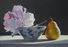 Chinese artist Ning Lee -- draws inspiration for his still life paintings from the Renaissance masters and the seventeenth century Dutch masters.