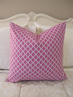 pretty pink pillow