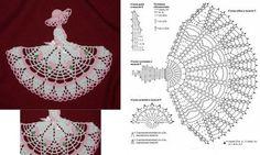 Luty Artes Crochet: Bonecas em crochê + Gráficos.