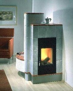 Luxury Kachelofen von Albiker Seitliche Flamme