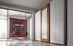 25+modern+wardrobe+wood+panels+rectangular+lines.jpg (600×383)