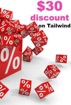 Discount! Only till 28th February, register to Tailwind, upgrade to premium with $30 discount. Do not miss and grab your $30 right now!