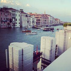 Venezia - Canal Grande visto dalla terrazza privata della Peggy Guggenheim Collection - Venice