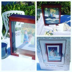 Photo frame for sand ceremony