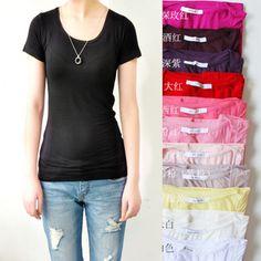 plain t-shirt - yes!