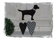 ♥+Deko+Hunde+Girlande+aus+Stoff+♥+von+ediths-stoffträume+auf+DaWanda.com