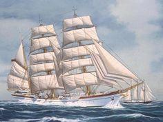 totally spies,Hajók,TS - zenészélet Old Sailing Ships, Good Old Times, Tall Ships, Plastic Models, Sail Boats, Products, Laminas Para Decoupage, Sailing Ships, Manualidades