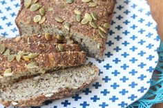 Linseed Coconut Bread (Clean eating, Paleo, gluten free)