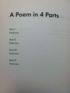 Fuck Poetry 118