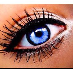 All+Blues+Eye | Blue eyes love the thick.' black outside color of the eyeball