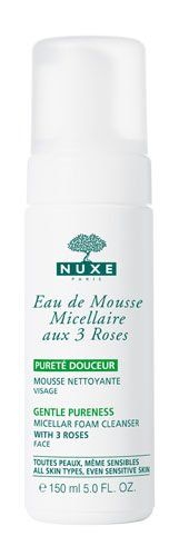 Nuxe Gentle Pureness Micellar Foam Cleanser with 3 Roses 150ml has been published at http://www.discounted-skincare-products.com/nuxe-gentle-pureness-micellar-foam-cleanser-with-3-roses-150ml/